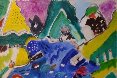 Aristodimos Kaldis, 'Aegean Landscape', 1966