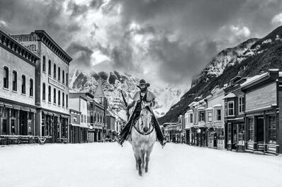 David Yarrow, 'Go West Young Man', 2021
