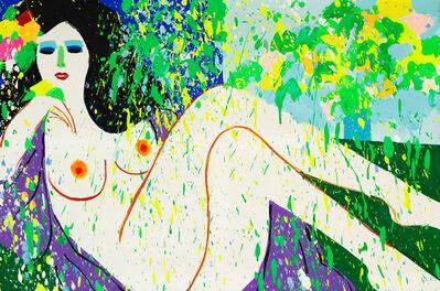 Walasse Ting 丁雄泉, 'After Bath', 1979