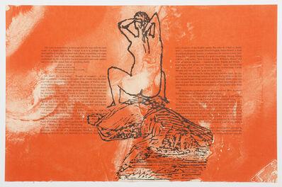 Francesco Clemente, 'The Departure of the Argonaut (portfolio)', 1986