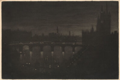 Joseph Pennell, 'WESTMINSTER PALACE (WUERTH 509)', 1909