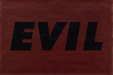 Ed Ruscha, 'Evil', 1973