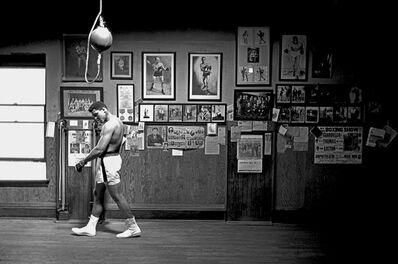 Thomas Hoepker, 'Muhammad Ali Walking in Gym', 1966