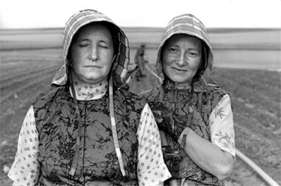 Laura Wilson, 'Hutterite Women Gardeners, Riverview Colony, Chester, Montana, June 22, 1994 '