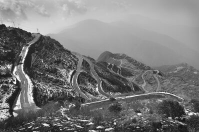 "Mohan Lal Majumder, 'Hilly Roads Scene, Black and White Photography by Indian Artist ""In Stock""', 2010"