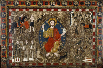 'Altar Frontal with Christ in Majesty and the Life of Saint Martin', 1250