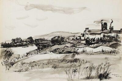 Henri Hayden, 'Paysage, Triel-sur-Seine', 1948