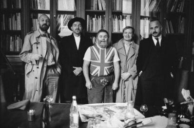 Benjamin Katz, 'Georg Baselitz, Markus Lüpertz, A.R. Penck, Per Kirkeby, Jörg Immendorff, Cologne', 1987