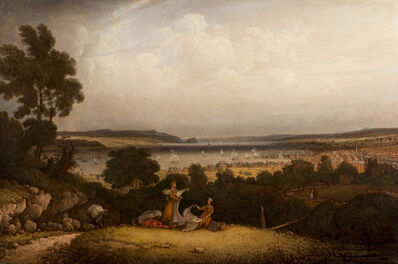 Robert Salmon, 'Greenock, Scotland (Views of the Clyde from Finnart)', 1839
