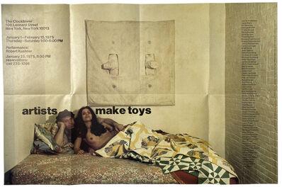Hannah Wilke, 'Artists Make Toys', 1975