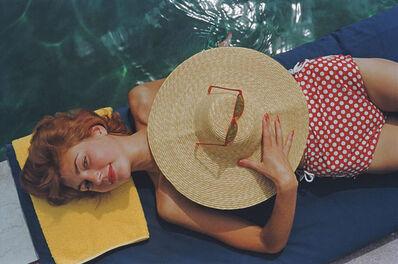 Slim Aarons, 'Sunbathing In Burgenstock', 1955