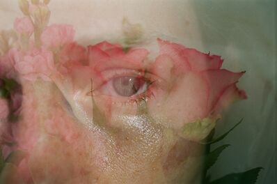 Lina Scheynius, 'me from flower 2018', 2018