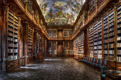 Christian Voigt, 'Philosophical Hall - Strahov Monastery, Czech Republic | Prague', 2015