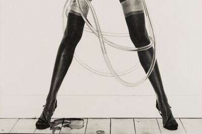 David Bailey, 'Legs and Hosepipe', 1980