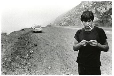 Anthony Friedkin, 'Clockwork Malibu/Rick Dano on the Highway - Malibu, California', 1977