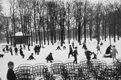 Edouard Boubat, 'Les Enfants dans la Première Neige, Jardin du Luxembourg, Paris', 1955