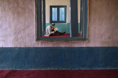 Steve McCurry, 'Man in Bamiyan Mosque', 2006