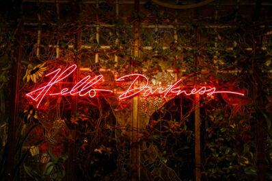Olivia Steele, 'Hello Darkness (Red)', 2015