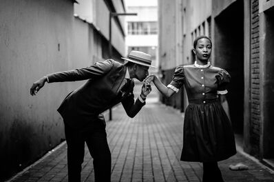 Harness Hamese, 'Give thanks to thoughtful hands – Bafana Mthembu and Andile Biyana of Khumbula', 2013
