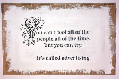 Banksy, 'Advertising', 2005