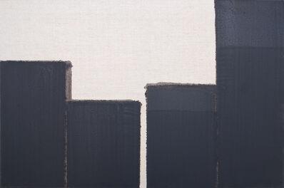 Yun Hyong-keun, 'Burnt Umber & Ultramarine Blue', 1999