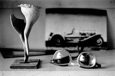 Nomi Baumgartl, 'Glasses and Shell, Andreas Feininger, New Milford, Connecticut', 1989