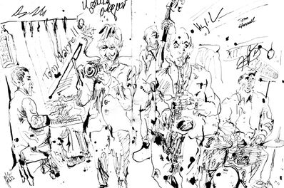 Jonathan Glass, 'Tom Harrell Quintet at Village Vanguard', 2013