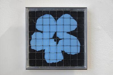 Rachel Lachowicz, 'Untitled (Azure Blue Flower)', 2012