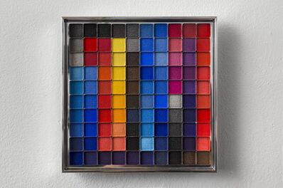 Rachel Lachowicz, 'Untitled (Color Computation: Turquoise, Blue, Orange,Yellow)', 2012