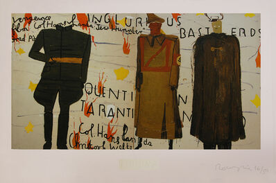 Rose Wylie, 'Inglorious Bastards (Film Notes)', 2013