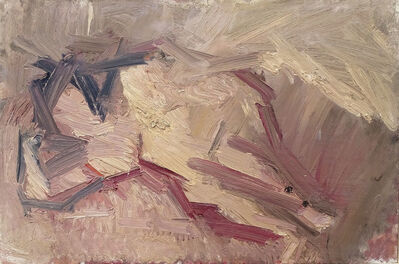 Dennis Creffield, 'Reclining nude', 1959