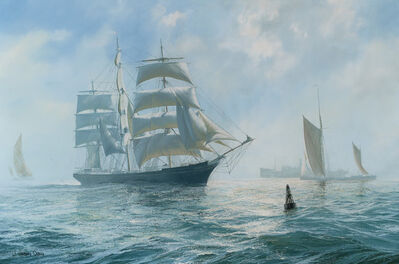 John Steven Dews, 'Cutty Sark Entering the Thames River ', 1919-Present