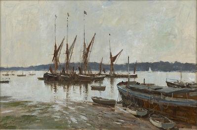 Edward Seago, 'Spritsail Barges at Pin Mill', 20th century