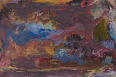 Jon Schueler, '(o/c 68-19) Rhythmic Response', 1967-1968