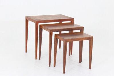 Severin Hansen, 'Set of three nesting tables by Severin Hansen', 1960-1969