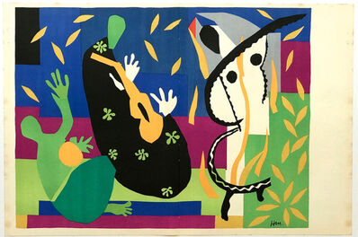 Henri Matisse, 'LA TRISTESSE DU ROI', ca. 1952