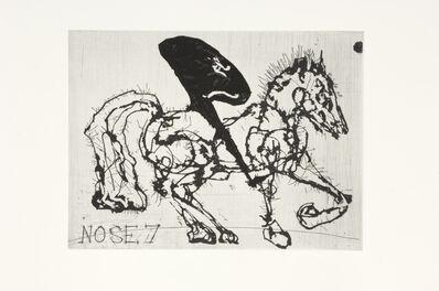 William Kentridge, 'Nose 7', 2008