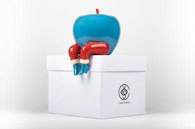 Parra, 'An Apple on The Edge', 2018