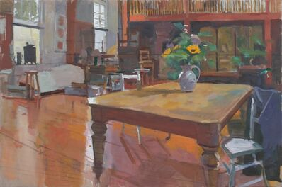 Ken Howard, 'Interior St. Clements Studio ', 2020