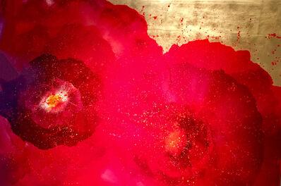 Carolyn Reynolds, 'Red Bursts Over Gold', 2017