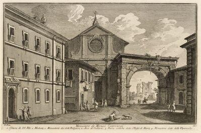 Giuseppe Vasi, 'Monastero di monaci cisterciensi', 1747-1801