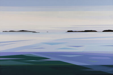 Greta Van Campen, 'Hurricane Island, Fog', 2020