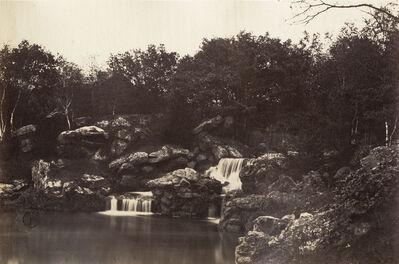 Charles Marville, 'Cascade, Bois de Boulogne', 1858/1858