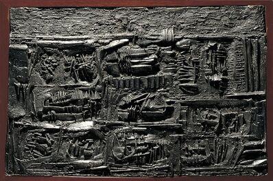 Arnaldo Pomodoro, 'Tavola dei segni, 1957, II', 1957