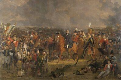 Jan Willem Pieneman, 'The Battle of Waterloo', 1824