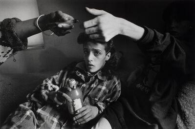 Eugene Richards, 'Crack Den, New York City', 1988