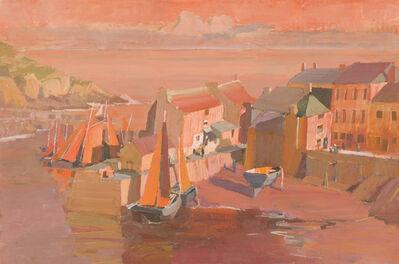 Jörg Ernert, 'Abend im Fischerhafen 2. Fassung (Evening in the fishing harbour 2. version)', 2018