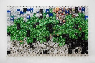 Jacob Hashimoto, 'Forgotten and Unknown Darknesses', 2014