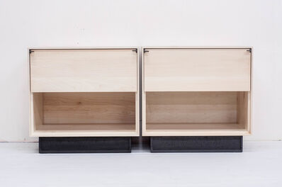 Jeff Martin, 'Excavated Bedside Tables (pair)', 2019