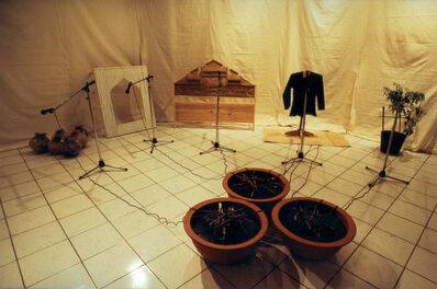 FX Harsono, 'Voice from the Base of the Dam (Suara dari Dasar Bendungan)', 1994